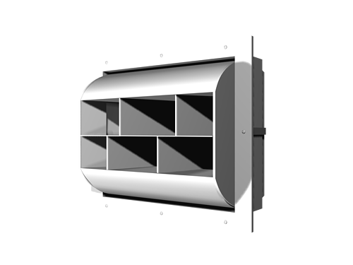 High Capacity Drum Louver