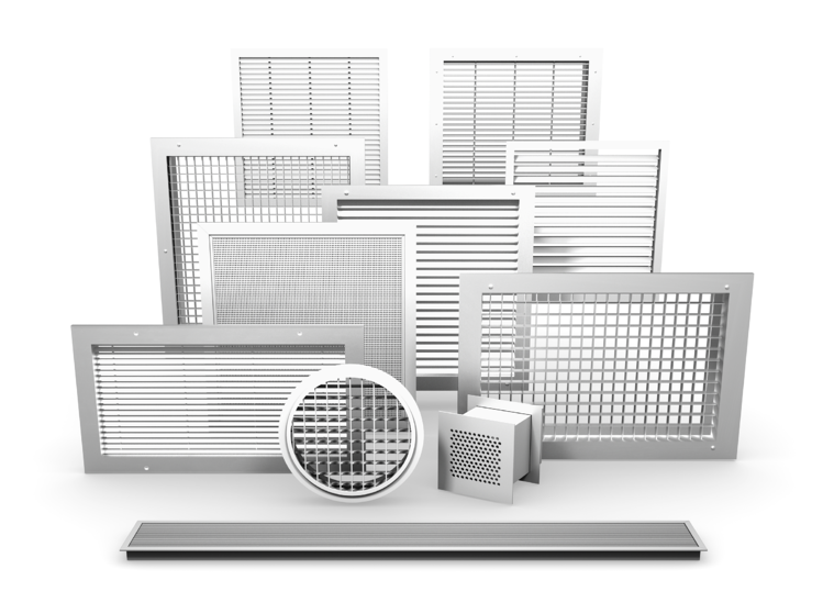 Collection of commercial & industrial grilles